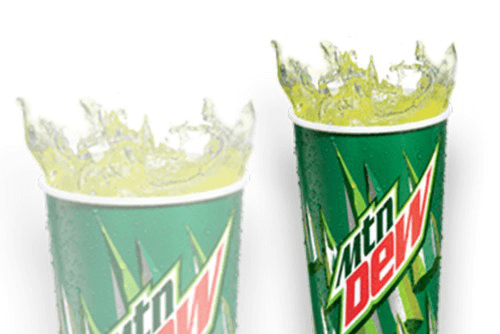 MOUNTAIN DEW - MEDIUM